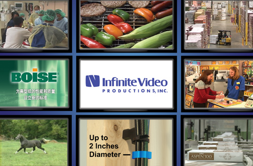 Infinite Video Productions, Inc sample video collage